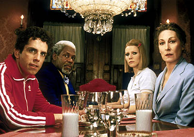 Ben Stiller as Chas, Danny Glover as Henry, Gwyneth Paltrow as Margot, and Anjelica Huston as Etheline
