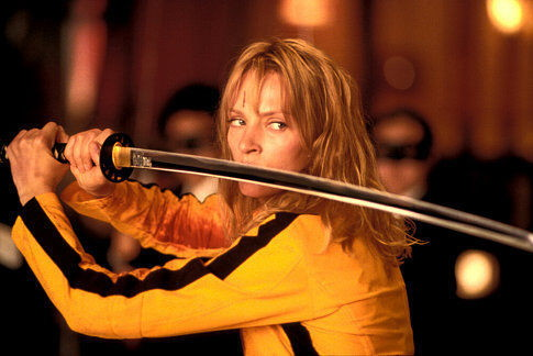 Uma Thurman as The Bride in Kill Bill Vol 1