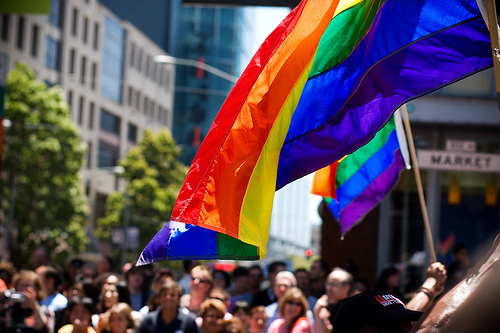 Pride Flag by John Carleton