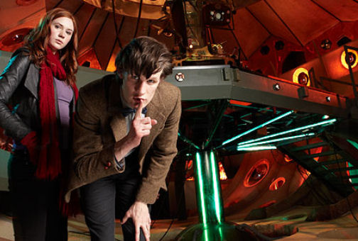Amy and the new Doctor