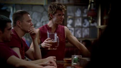 Jason drinks beer.