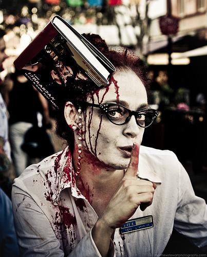 Zombie Woman by Matthew Stewart