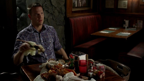 True Blood 3x09 Hoyt and Summer's dolls