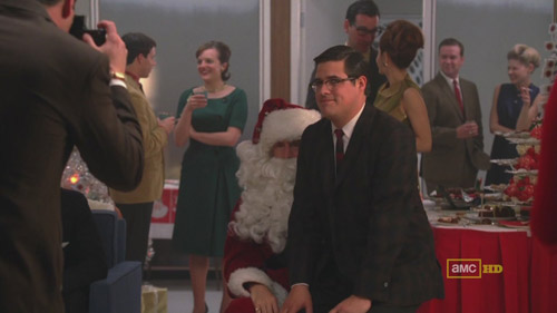 Mad Men 4x02 Roger and Harry