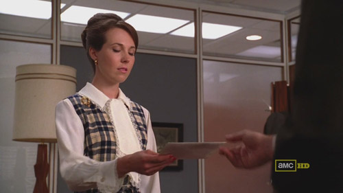 Mad Men 4x02 Allison and Don