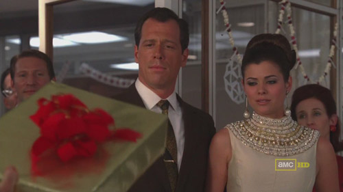 Mad Men 4x02 Lee and Jane