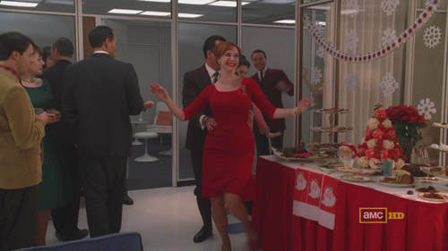 Mad Men 4x02 Joan and Lee