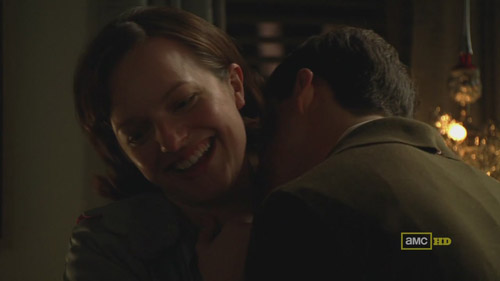 Mad Men 4x02 Peggy and her boytoy