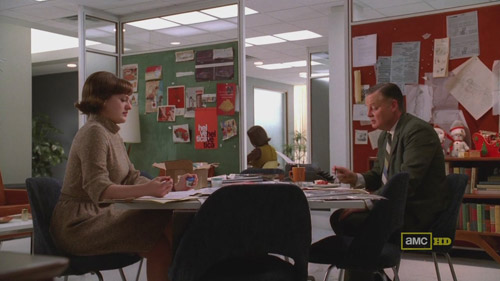 Mad Men 4x02 Peggy and Freddy