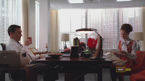 Mad Men 4x02 Don and Allison