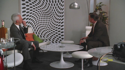 Mad Men 4x02 Roger and Freddy