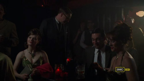 Mad Men 4x03 The Good News Lane, Don, and the hookers