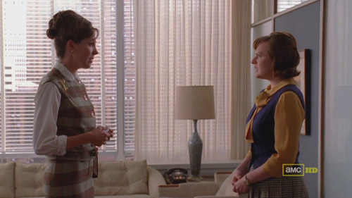 Mad Men 4x04 Allison and Peggy
