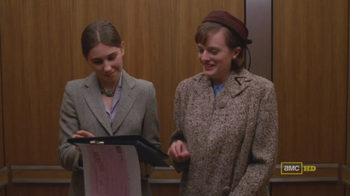 Mad Men 4x04 Joyce and Peggy