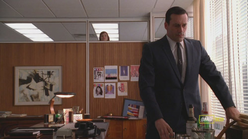 Mad Men 4x04 Peggy and Don