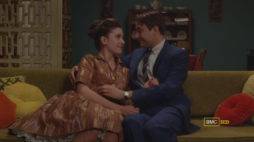 Mad Men 4x04 Trudy and Pete