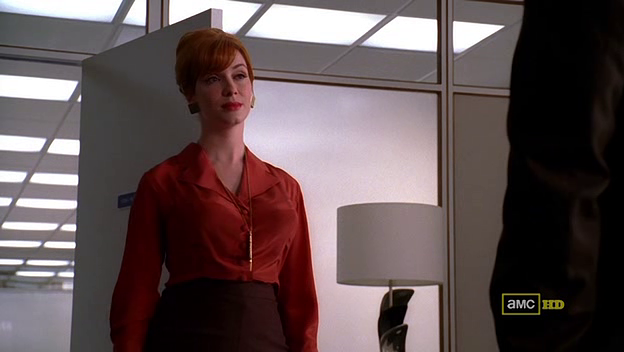 Mad Men 4x05 Joan and Roger