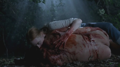 True Blood 3x08 Jessica and a wolf