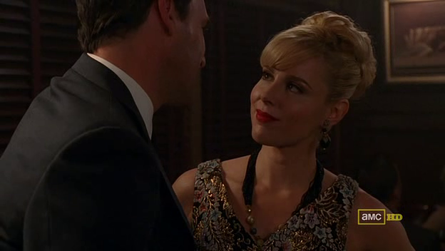 Mad Men 4x06 Faye and Don