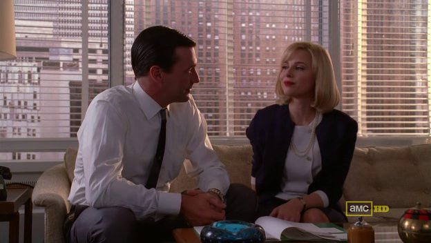 Mad Men 4x08 Don and faye