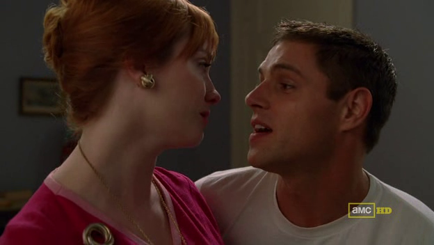 Mad Men 4x08 Joan and Greg