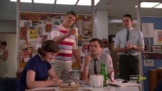 Mad Men 4x08 Peggy and the Boys