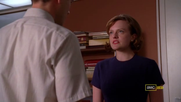Mad Men 4x08 Peggy fire Joey