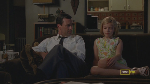 Mad Men 4x09 Don and Sally