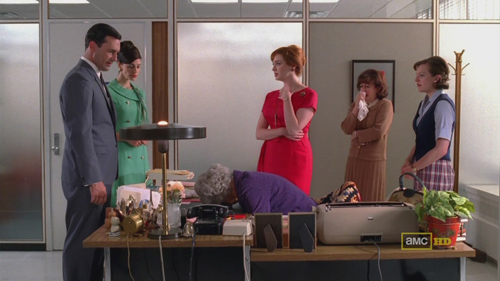 Mad Men 4x09 Ida is dead