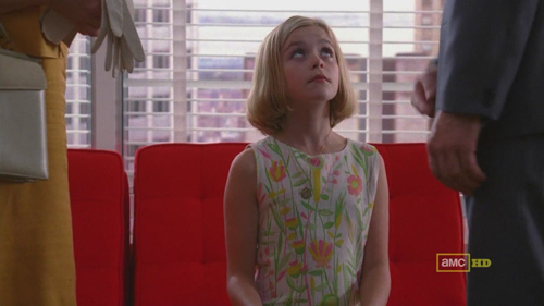 Mad Men 4x09 Sally and the adults