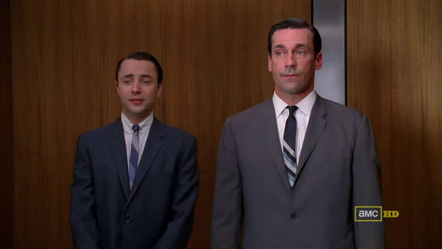 Mad Men 4x10 Pete and Don