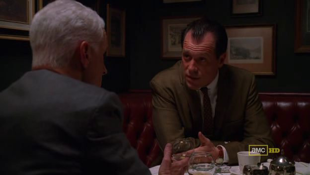 Mad Men 4x10 Roger and Lee