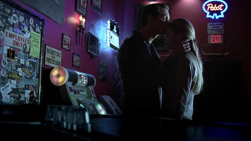 True Blood 3x11 Eric kisses Pam