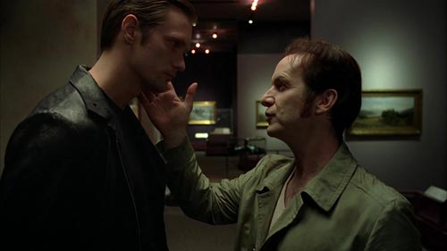 True Blood 3x11 Eric and Russell in the museum
