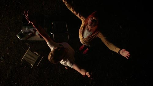 True Blood 3x11 Holly and Arlene perform a Wiccan ritual
