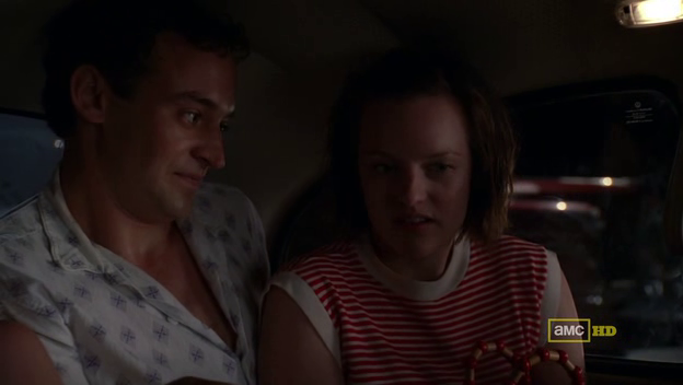 Mad Men 4x11 Peggy and Abe