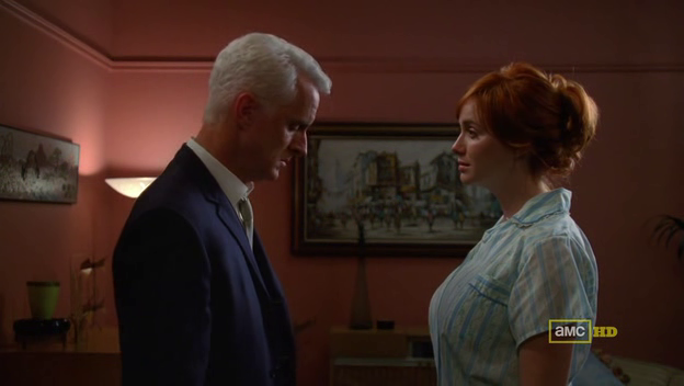 Mad Men 4x11 Roger and Joan