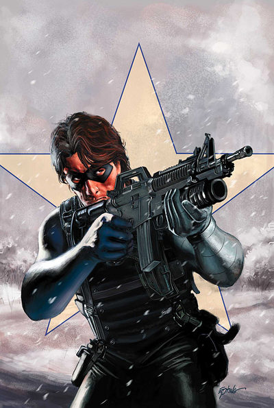 Bucky as the Winter Soldier