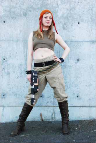 Sister Piston as Jayne from Firefly in Seattle's Wehdonesque Burlesque