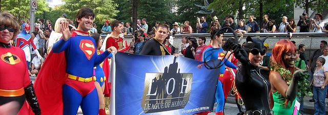 Superhero Cosplay by Karl Palutke