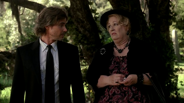 Sam and Maxine at Tommy's funeral