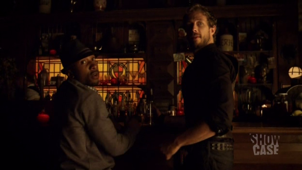 Of course, Hale and Dyson are the only ones at the bar. Who else?