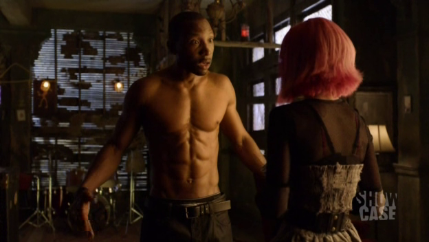 Hale and his abs