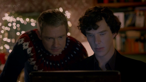 Sherlock and Watson: solving mysteries in the modern world.