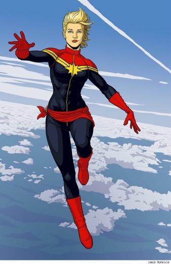 Captain Marvel by Jamie McKelvie