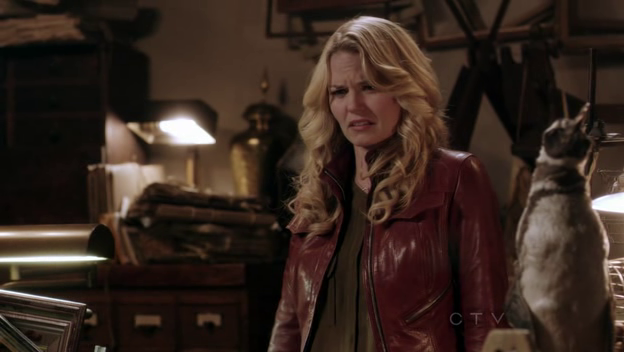 Emma's definitely not okay with this plot.