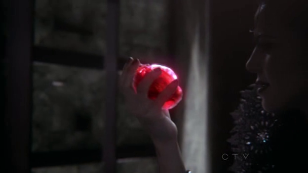 Shiny heart. In her hand!