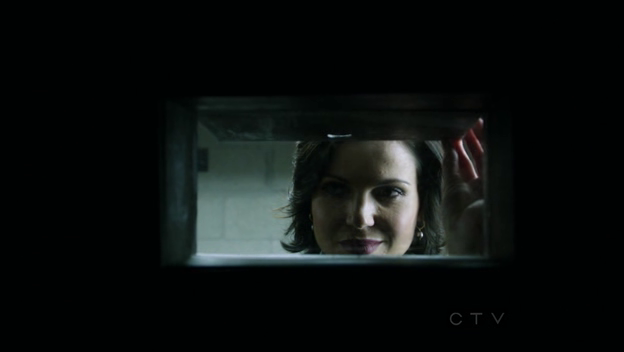 Just so smug about our prisoners. Of course, Regina's just all about the power.