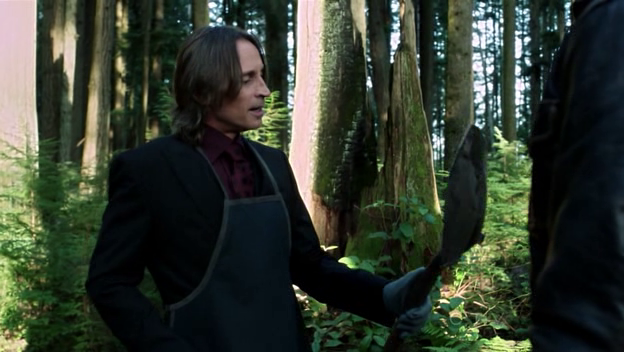Mr. Gold's just hanging out in the forest. Like he does.
