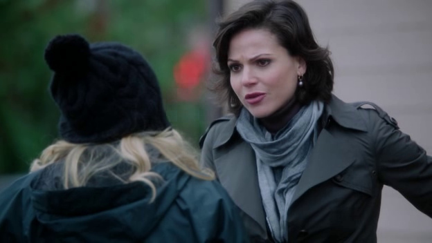 Regina makes everyone's business her business. Micro manage much?
